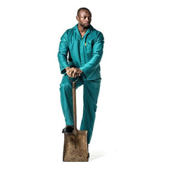 Dromex Emerald Green Conti Suit - Safety Supplies  Workwear - PPE, Workwear, Conti Suits, Zeroflame and Acid, Safety Equipment, SAFETY SUPPLIES - Safety supplies
