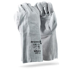 Dromex DBL Palm Leather Glove (6 inch.) - Safety Supplies  Hand Protection - PPE, Workwear, Conti Suits, Zeroflame and Acid, Safety Equipment, Safety Products - Safety supplies