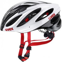 uvex boss race White-Black Cycling Sport Helmet - Safety Supplies  Sports Protection - PPE, Workwear, Conti Suits, Zeroflame and Acid, Safety Equipment, Safety Products - Safety supplies