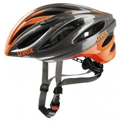 uvex boss race Grey Neon-Orange 55-60 Cycling Sport Helmet