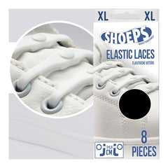 Shoeps White Elastic Silicone XL Shoe Laces - Safety Supplies  Footwear - PPE, Workwear, Conti Suits, Zeroflame and Acid, Safety Equipment, Safety Products - Safety supplies