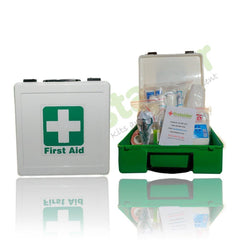 First Aid Kit (plastic box with contents) - Regulation 3 - Safety Supplies  First Aid Kits - PPE, Workwear, Conti Suits, Zeroflame and Acid, Safety Equipment, Safety Products - Safety supplies