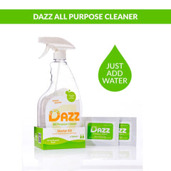 DAZZ All Purpose Cleaner Tablet – Starter Kit - Safety Supplies  Other Protection - PPE, Workwear, Conti Suits, Zeroflame and Acid, Safety Equipment, Safety Products - Safety supplies