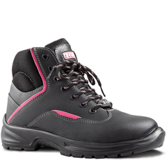 Sisi Reese Safety Boot - Black - Safety Supplies  Footwear - PPE, Workwear, Conti Suits, Zeroflame and Acid, Safety Equipment, Safety Products - Safety supplies