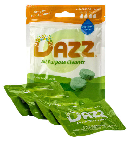DAZZ All Purpose Cleaner Tablet - Refill Pack - Safety Supplies  Other Protection - PPE, Workwear, Conti Suits, Zeroflame and Acid, Safety Equipment, Safety Products - Safety supplies