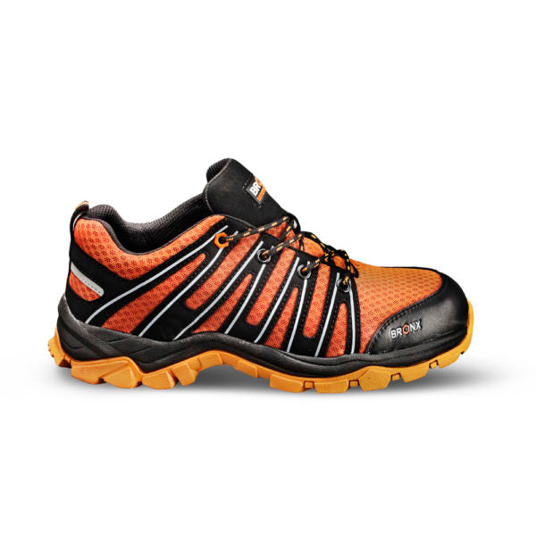 Bronx Athletic Safety Sneaker - Orange - Safety Supplies  Footwear - PPE, Workwear, Conti Suits, Zeroflame and Acid, Safety Equipment, Safety Products - Safety supplies