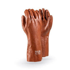 Dromex  XTRA Heavy Duty Brown PVC Glove - Safety Supplies  Hand Protection - PPE, Workwear, Conti Suits, Zeroflame and Acid, Safety Equipment, SAFETY SUPPLIES - Safety supplies