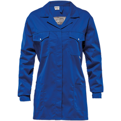 Sisi 65/35 Poly Cotton Work Jacket - Royal Blue - Safety Supplies  Workwear - PPE, Workwear, Conti Suits, Zeroflame and Acid, Safety Equipment, Safety Products - Safety supplies