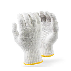 Dromex 10-gauge Machine Knitted Cotton Gloves - White - Safety Supplies  Hand Protection - PPE, Workwear, Conti Suits, Zeroflame and Acid, Safety Equipment, Safety Products - Safety supplies