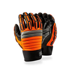 Dromex Mach 4 IMPACT Meta Mining Black/Orange Glove - Safety Supplies  Gloves - PPE, Workwear, Conti Suits, Zeroflame and Acid, Safety Equipment, SAFETY SUPPLIES - Safety supplies