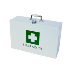 First Aid Kit (metal box with contents) - Regulation 3 - Safety Supplies  First Aid Kits - PPE, Workwear, Conti Suits, Zeroflame and Acid, Safety Equipment, Safety Products - Safety supplies