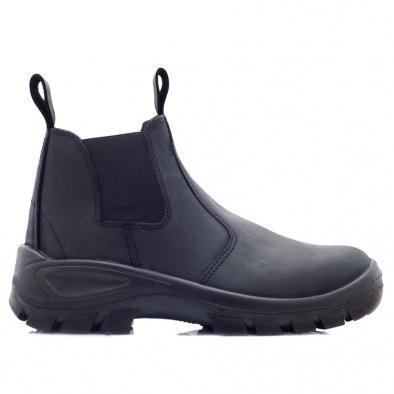 Bova Chelsea Black Boot - Safety Supplies  Safety Boots - PPE, Workwear, Conti Suits, Zeroflame and Acid, Safety Equipment, SAFETY SUPPLIES - Safety supplies
