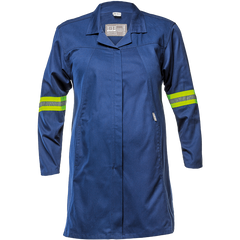 Sisi J54 100% Cotton Maternity Jacket - Navy Blue - Safety Supplies  Workwear - PPE, Workwear, Conti Suits, Zeroflame and Acid, Safety Equipment, Safety Products - Safety supplies