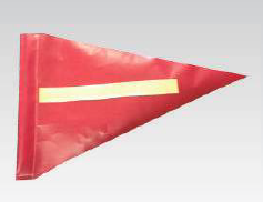 Buggy Whip Flag - Red - Safety Supplies  Flags - PPE, Workwear, Conti Suits, Zeroflame and Acid, Safety Equipment, Safety Products - Safety supplies