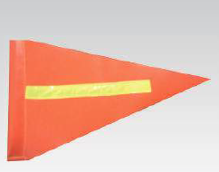 Buggy Whip Flag - Orange - Safety Supplies  Flag - PPE, Workwear, Conti Suits, Zeroflame and Acid, Safety Equipment, SAFETY SUPPLIES - Safety supplies