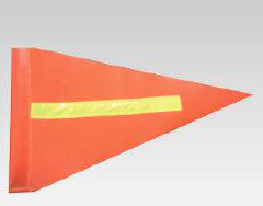 Buggy Whip Flag - Orange - Safety Supplies  Flags - PPE, Workwear, Conti Suits, Zeroflame and Acid, Safety Equipment, SAFETY SUPPLIES - Safety supplies