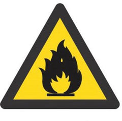 Warning Fire Hazard (190x190) - Safety Supplies  Signage - PPE, Workwear, Conti Suits, Zeroflame and Acid, Safety Equipment, Safety Products - Safety supplies