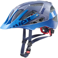 uvex quatro Mat-Blue All-Mountain Cycling Sport Helmet