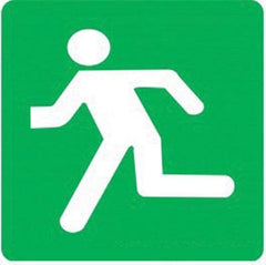 Direct Escape Left (290x290) - Safety Supplies  Signage - PPE, Workwear, Conti Suits, Zeroflame and Acid, Safety Equipment, Safety Products - Safety supplies