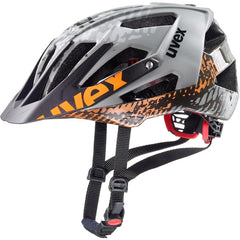 uvex quatro Dirt-Grey All-Mountain Cycling Sport Helmet