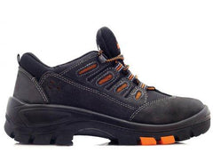 Bova Black HAWK Abrasion Resistant Safety Shoe. - Safety Supplies  Safety Shoes - PPE, Workwear, Conti Suits, Zeroflame and Acid, Safety Equipment, SAFETY SUPPLIES - Safety supplies