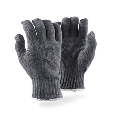 Dromex 7-gauge Machine Knitted Cotton Gloves - Grey - Safety Supplies  Hand Protection - PPE, Workwear, Conti Suits, Zeroflame and Acid, Safety Equipment, Safety Products - Safety supplies