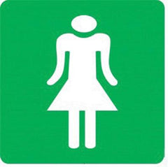 Ladies Toilet (290x290) - Safety Supplies  Signage - PPE, Workwear, Conti Suits, Zeroflame and Acid, Safety Equipment, Safety Products - Safety supplies