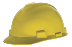 MSA V.Guard Hard Hat+Snugfit Liner - Yellow - Safety Supplies  Head Protection - PPE, Workwear, Conti Suits, Zeroflame and Acid, Safety Equipment, Safety Products - Safety supplies