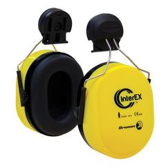 Dromex Interex Earmuff with helmet universal mount. - Safety Supplies  Hearing Protection - PPE, Workwear, Conti Suits, Zeroflame and Acid, Safety Equipment, Safety Products - Safety supplies