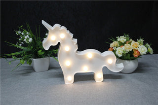 Unicorn 3D LED Night Lamp