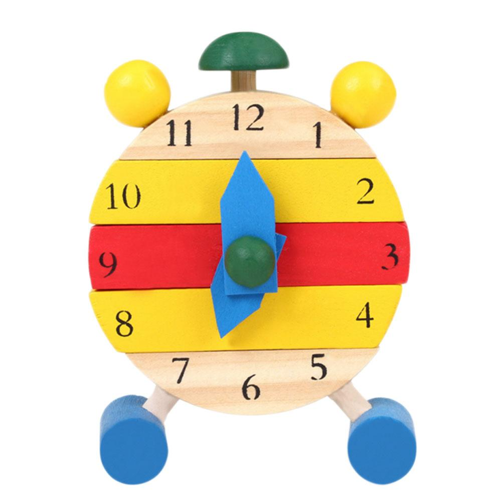 Learning & Education Baby Clock Toy Cognition Wooden Clock Learning For Kids Children Toys Natural Wood Montessori Clock Learning Time Puzzles And To Have A Long Life.