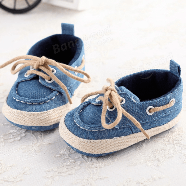 Denim Boat Shoes | 0-18 meses Disponible