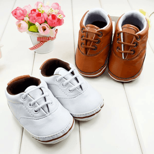 Soft Baby Toddler Leather Sneakers