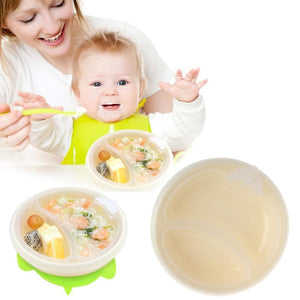 This hot water insulation feeding bowl is superb for those drawn-out feeding sessions! Simply place hot water in the sealed under-section and it keeps food warm for longer!