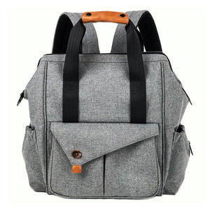 Gabesy Diaper Backpack, Color - Light gray