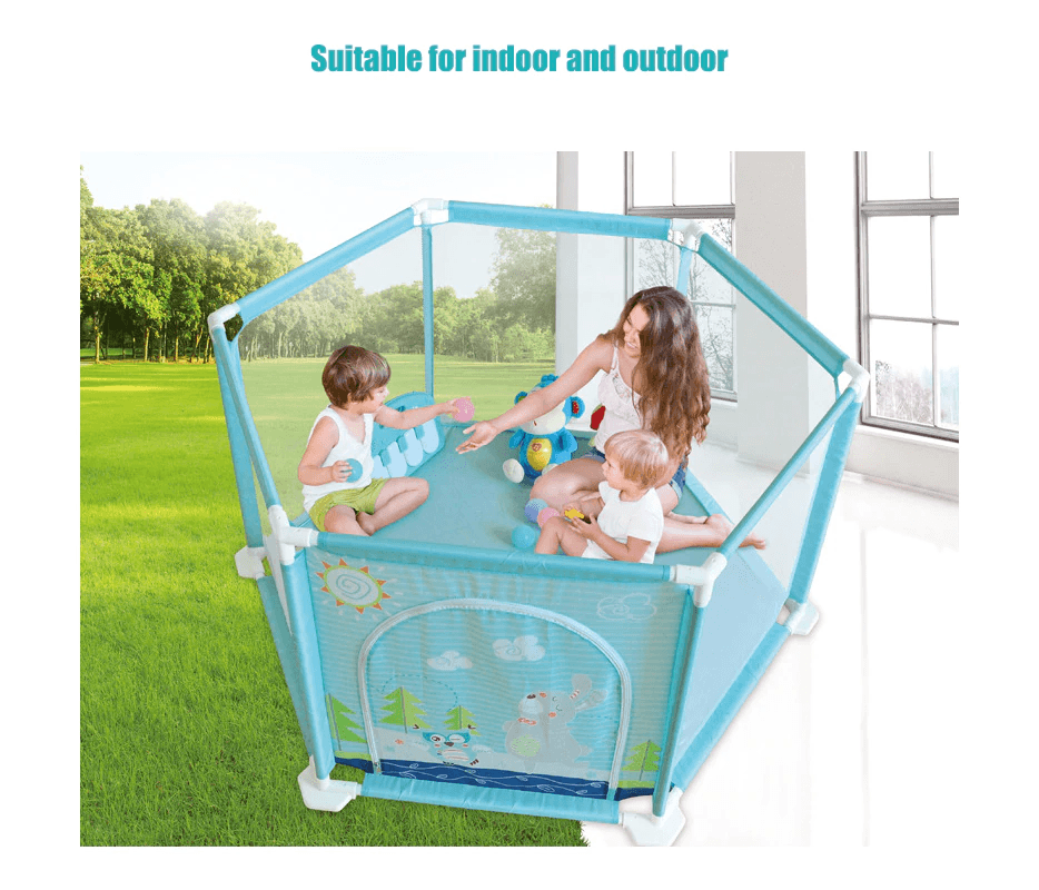 Ellie Playpen for Babies & Toddlers - Indoor & Outdoor