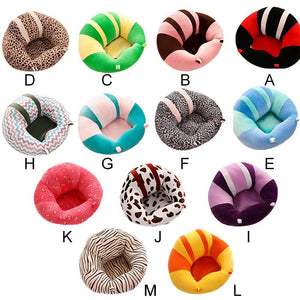 Colorful Plush Baby Seat Support Sofa