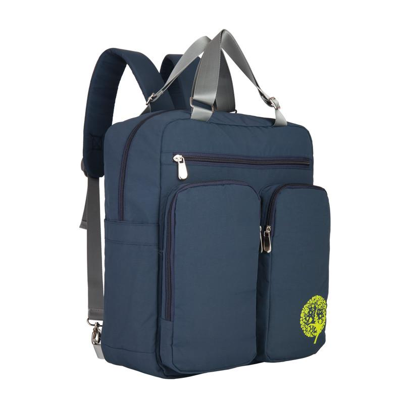 This Insular Multifunctional Baby Diaper Backpack Tote Bag has ample storage compartments for bottles, diapers, snacks, toys and valuables.