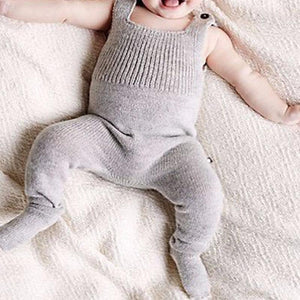 Cute Knitted Romper Jumpsuit