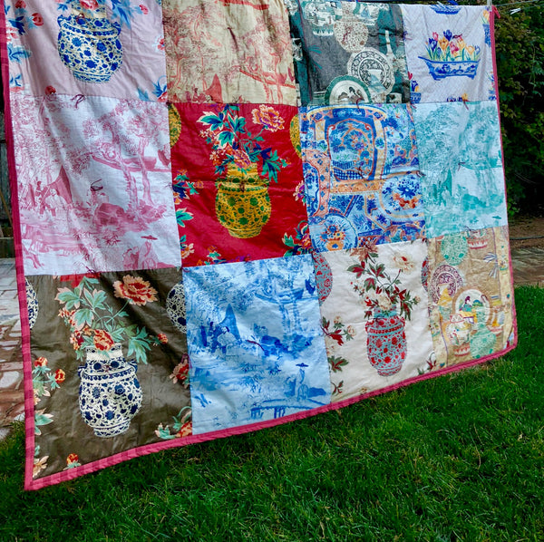 queen bee heirloom quilt