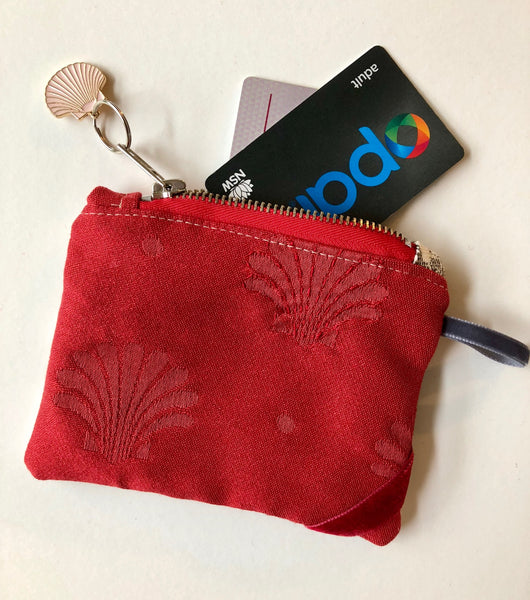 shell card & coin purse
