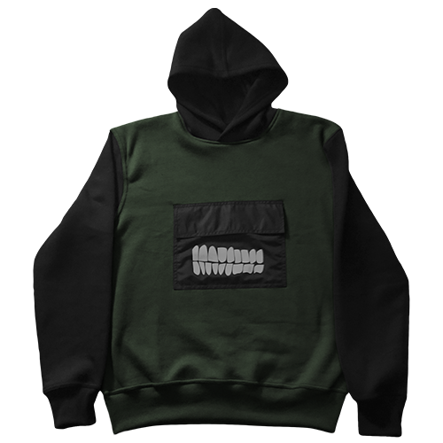Pearly Whites Two Tone hoodie