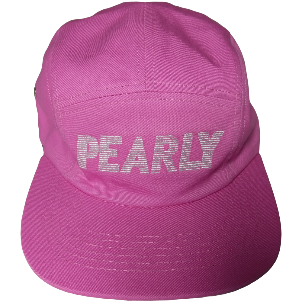 a3c64e4e0c5d3 5-panel cap Pink – Pearly Whites Clothing
