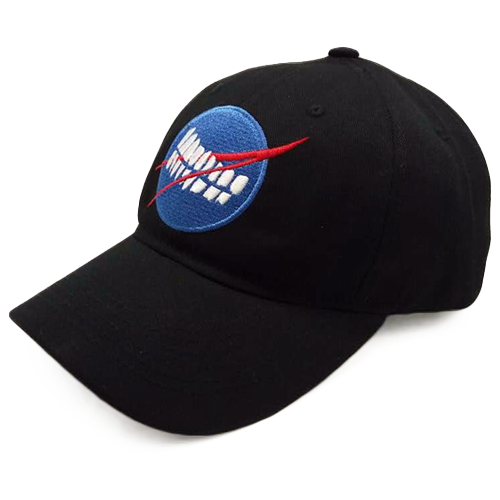 Pearly Whites Space 6 Panel Cap