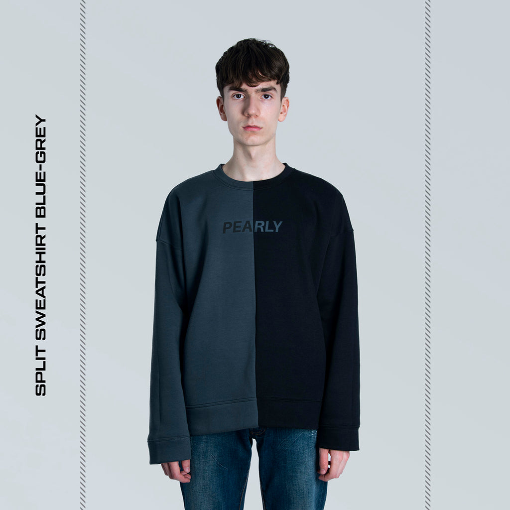 Split Sweatshirt v2 Blue-Grey