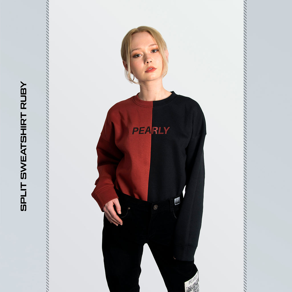 Split Sweatshirt v2 Ruby [SALE]
