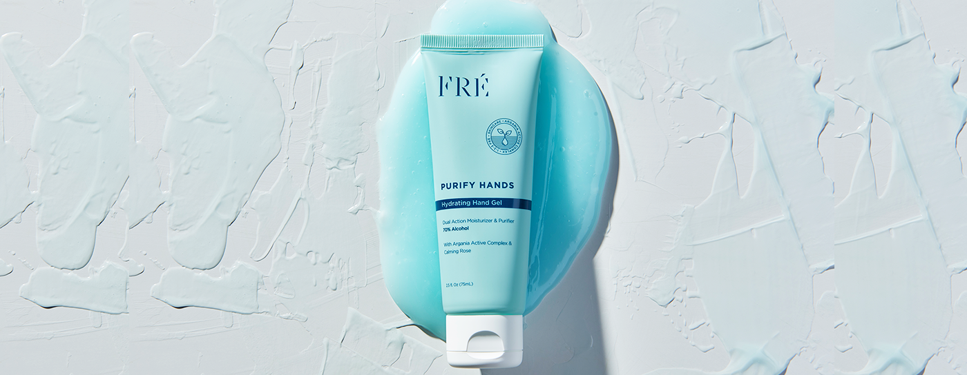 Sanitize & Hydrate with PURIFY HANDS