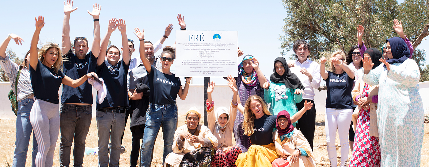 Planting Trees With The High Atlas Foundation