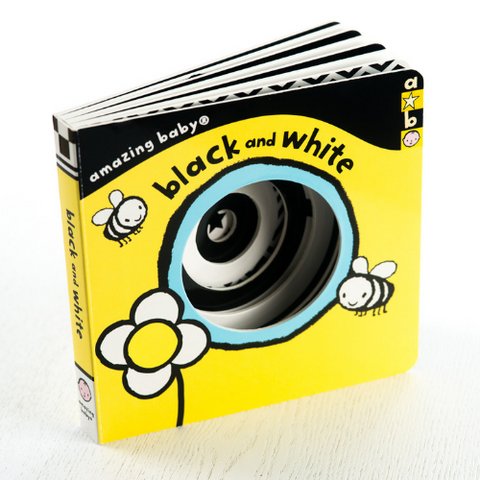 Black and White Baby Book