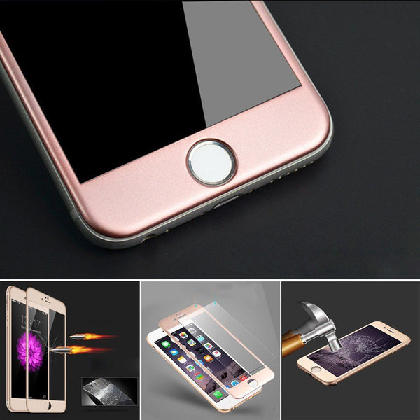 Carbon Fiber 3D Tempered Glass for iPhone